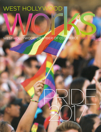 West Hollywood Chamber of Commerce Works Magazine June 2017