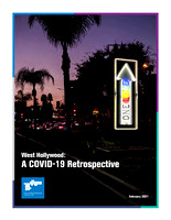 City of West Hollywood COVD-19 Retrospective