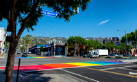 West Hollywood Rainbow Crosswalks